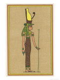The Supreme Mother-God of Thebes and Consequently the Symbolic Mother the Pharaoh Giclee Print by E.a. Wallis Budge