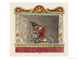 Punch on His Steed Giclee Print by George Cruikshank