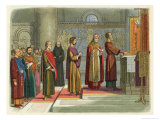 The Barons Swear to Achieve Their Liberties at Bury St. Edmunds Giclee Print by James Doyle