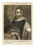 Balthasar Moretus Flemish Printer Giclee Print by Nicolas de Larmessin