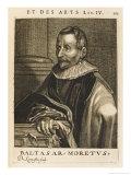 Balthasar Moretus Flemish Printer Giclee Print by Nicolas de Larmessin