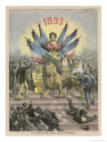 Universal Suffrage Comes to the People of France, Well to French Men Anyway Giclee Print by Henri Meyer