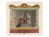 Punch in Prison Giclee Print by George Cruikshank