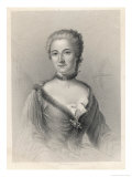 Marquise Du Chatelet Giclee Print by J.c. Armytage