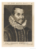Jacques Auguste De Thou French Magistrate and Historian Giclee Print by Esme De Boulonois