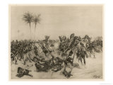 Battle of Alexandria Giclee Print by Henri Dupray