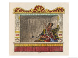 Punch is Taken Prisoner Giclee Print by George Cruikshank