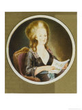 Queen of Louis XVI in 1778 When She is 23 Giclee Print by Vittoriana Campana