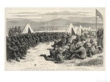 The End of the Zulu War, The Surrender of Native Chiefs to Sir G. Wolseley Giclee Print by Godefroy Durand