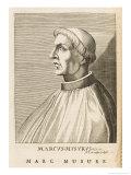 Markos Musurus Greek Scholar Giclee Print by Nicolas de Larmessin
