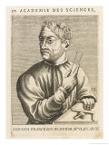 Giovanni Francesco Rustichi Italian Sculptor and Architect Giclee Print by Nicolas de Larmessin