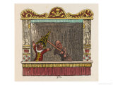 Punch Pities the Poor Blind Giclee Print by George Cruikshank