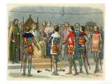 Richard II and the Appeal of Treason Giclee Print by James Doyle