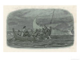"Henry I's Children Drown When the ""White Ship"" Founders on a Rock and Capsizes Giclee Print by James Doyle"