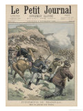 Boer General Viljoen Killed at Elands Laagte Giclee Print by Eugene Damblans