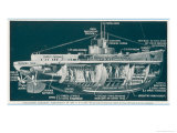 The U-30 Class of Untersee- Boot the Type Most Generally Used for Attacks on Shipping Giclee Print by S. Clatworthy