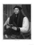Thomas Cranmer Archbishop of Canterbury Giclee Print by J. Cochran