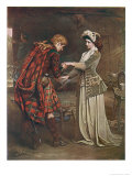 Prince Charles Edward Stuart Bids Farewell to Flora Macdonald Who Aided His Escape Giclee Print by  Andre & Sleigh