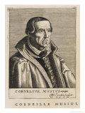 Cornelis Muys or Musius Dutch Theologian Giclee Print by Nicolas de Larmessin