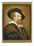 Pieter Paul Rubens Flemish Painter Giclee Print by Wilhelmine Du Thil