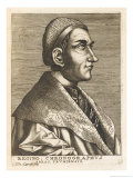 Regino Von Prum Also Known as Reginon German Monk and Chronicler Giclee Print by Nicolas de Larmessin
