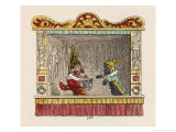 Punch and the Foreign Footman Giclee Print by George Cruikshank