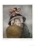 Mrs Wheatley in 1788 Giclee Print by T. Bartolozzi