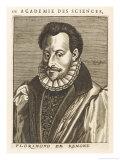 Florimond De Remond French Historian Giclee Print by Nicolas de Larmessin