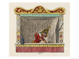 Punch and His Music Giclee Print by George Cruikshank