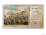 Yeomanry Charge a Crowd Gathered in Manchester to Hear Speeches Supporting Parliamentary Reform Giclee Print by Atkins