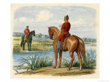 Stephen Agrees Truce with Henry of Anjou at Crowmarsh Giclee Print by James Doyle