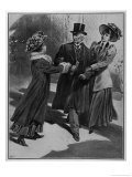 Jessie Kenney and Vera Wentworth Ambush and Capture Asquith Giclee Print by Samuel Begg