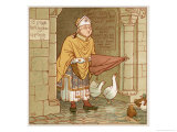 According to Tradition if It Rains Giclee Print by Robert Dudley