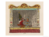Punch Playing with the Child Giclee Print by George Cruikshank