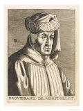 Enguerrand De Monstrelet French Chronicler Giclee Print by Nicolas de Larmessin