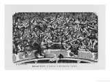 Boxing-Night Giclee Print by George Cruikshank