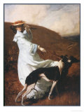 Diana of the Uplands Giclee Print by C.w. Furse