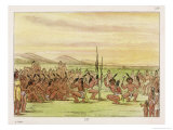 Eagle Dance Giclee Print by George Catlin