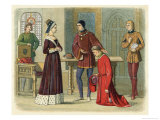 Warwick Submits to Margaret of Anjou the Wife of Henry Vi Giclee Print by James Doyle