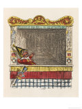 Punch Throws Away His Child Giclee Print by George Cruikshank