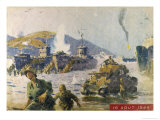 Operation Dragoon the Successful Allied Invasion of Southern France Giclee Print by A. Brenot