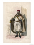 Jacques de Molay the Last Grand Master of the Knights Templar Burnt Alive for Alleged Crimes Giclee Print by Geille