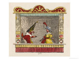 Punch and Pretty Poll Giclee Print by George Cruikshank