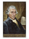 Joseph Haydn Austrian Musician and Composer Giclee Print by  Eichhorn