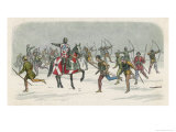 Lord Fauconbridge at the Battle of Towton Giclee Print by James Doyle
