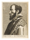 Erycius Puteanus Dutch Scholar Giclee Print by Nicolas de Larmessin