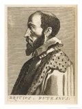 Erycius Puteanus Dutch Scholar Giclee Print by Nicolas de Larmessin