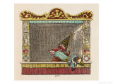 Punch Kills the Foreign Footman Giclee Print by George Cruikshank