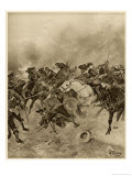 Charles I Defeated at the Battle of Marston Moor Giclee Print by Henri Dupray