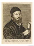 Hans Holbein (The Younger) Portrait Painter to English Royalty and Others at the Age of 43 Giclee Print by Esme De Boulonois